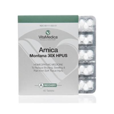 Active Ingredient: (HPUS) Arnica Montana 30X. Inactive Ingredients: Lactose, Gum Acacia.